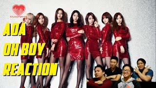 [4LadsReact] AOA   OH BOY MV Reaction