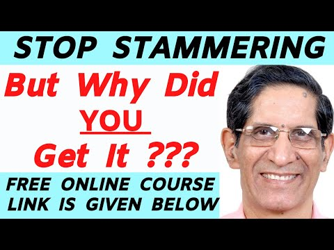 STUTTERING: REAL REASONS:Dr.Arora MBBS Pune Haklana New York Vancouver Washington Speech Therapy(50)