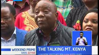 Mt Kenya leaders discuss BBI way forward in closed meeting in Embu County