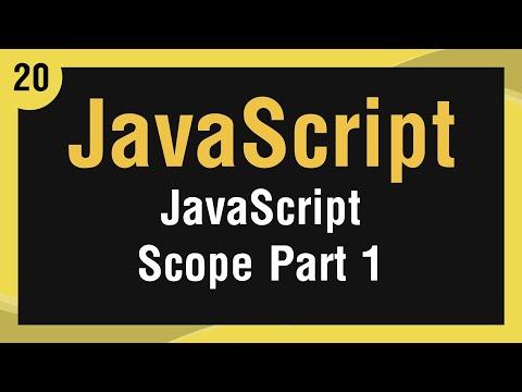 تعلم لغة JavaScript القائمة #1 الفديو #20