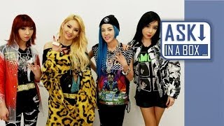 ASK IN A BOX: 2NE1(투애니원) _ Come Back Home(컴백홈) & Gotta Be You(너 아님 안돼) [ENG/JPN/CHN SUB]