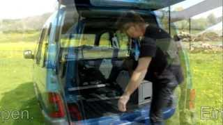preview picture of video 'Camping im Hochdachkombi Citroen Berlingo'