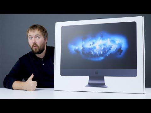 Распаковка iMac Pro - самого мощного компьютера Apple в истории...
