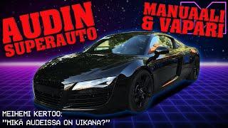 KOEAJOSSA - AUDI R8 4.2L V8 (MANUAALI) -08 (4K)