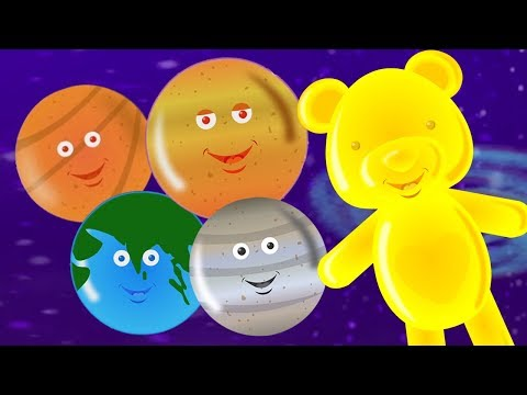 Planet lagu | Lagu sistem tata surya | pendidikan lagu | Planets Song For Kids | Learn Planets Names