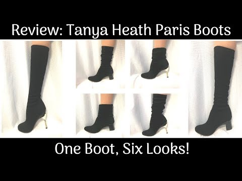 TANYA HEATH PARIS Convertible Heel Boot Review! | Lucy's Corsetry