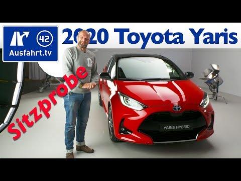 💥💥💥 2020 Toyota Yaris - Weltpremiere, Sitzprobe, Premiere, kein Test