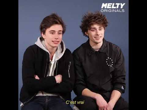 Axel Auriant & Maxence Danet Fauvel - Melty Interview (ENG SUB)