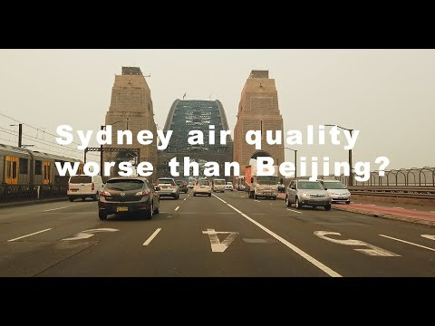 Sydney air quality worse than Beijing?