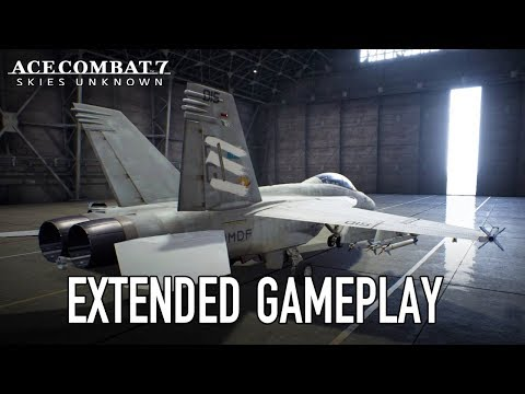 Ace Combat 7: Skies Unknown – PS4/XB1/PC – Gamescom 2018 Extended Gameplay