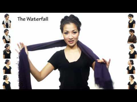25 formas divertidas de ponerse una bufanda