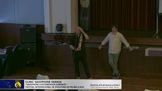 FISPalmela 2019 – YAMAHA «How to customize your sax by Albert Julia