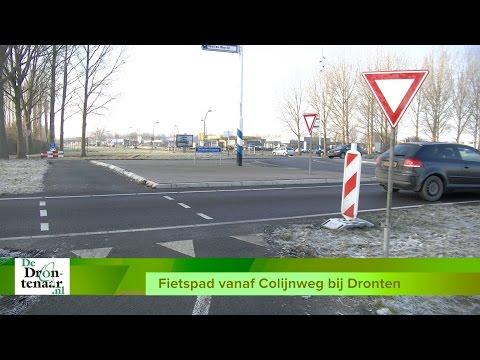 Gemeente Dronten betaalt de helft van het nieuwe fietspad bij de Colijnweg