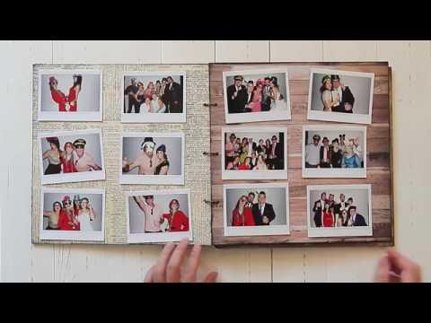 Álbum de fotos y firmas