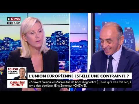 ÉRIC ZEMMOUR SE CONFIE CHEZ LAURENCE FERRARI SUR CNEWS
