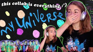 MY UNIVERSE is the perfect collab 😭 Coldplay x BTS reaction