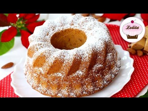 Bundt cake de turrón | Bizcocho de turrón esponjoso | Como hacer bundt cake fácil