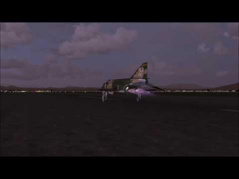 FSX] Greek HAF F4-E Phantom over Thessaloniki - смотреть онлайн на