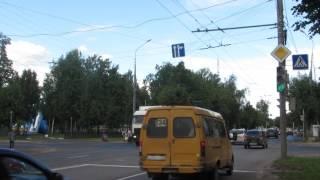 Проезд перекрестка Машиностроителей - Зарубина в Йошкар-Оле