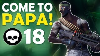 COME TO PAPA! | WHY DAEQUAN PLAYS FORTNITE | HIGH KILL FUNNY GAME- (Fortnite Battle Royale)