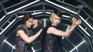 SHINee - Up&Down + Lucifer (샤이니 - 업앤다운 + 루시퍼) @ SBS Inkigayo 인기가요 100725