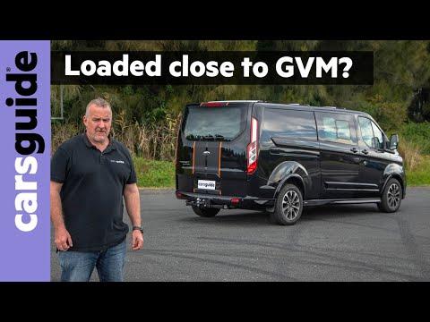 Ford Transit Custom Sport 320L DCiV takes on a GVM load challenge