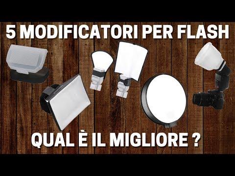 5 MODIFICATORI per il FLASH A SLITTA sotto i 20 euro a confronto! Qual è il migliore ?