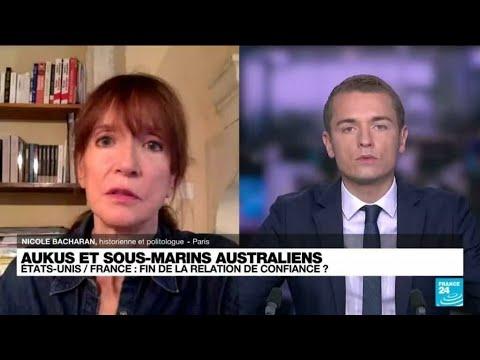 """Crise des sous-marins : Jean-Yves Le Drian évoque un """"mensonge"""" et une """"crise grave"""" • FRANCE 24"""