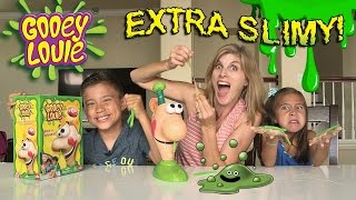 GOOEY LOUIE with EXTRA SLIME!!! Super Messy Louie Brains!