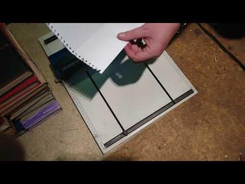 Manual Creasing Perforating Machine