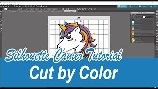 How to Cut by Color in the Silhouette Studio Software