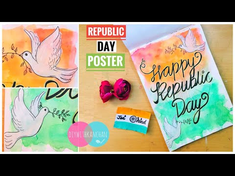 How To Draw Republic Day Poster