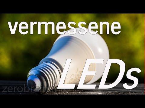"LED E27 Birnen im Test: Schrott oder Erleuchtung? ""100W"" LEDs mit E27?"