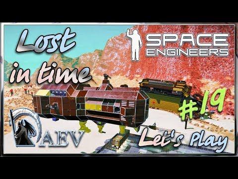 Space Engineers - Lost in time ► ч.19 - Кто над нами вверх ногами?