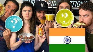 Americans Try Indian Food (Vegetarian)