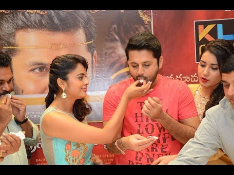 Srinivasa Kalyanam Movie Team At KLM Fashion Mall