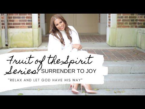 Monday Morning Prayer - Surrender to Joy