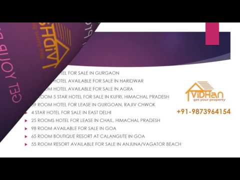Hotel sale /Purchase/lease in all over India