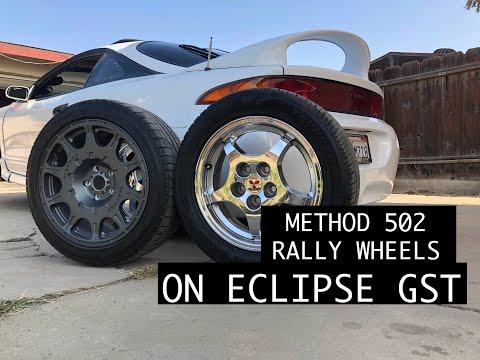 Eclipse GST (DSM): NEW WHEELS!