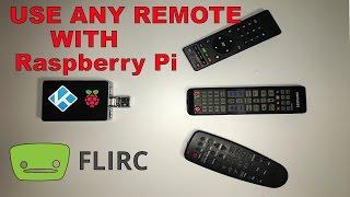 Use Any Tv Remote With Raspberry Pi 1 2 3 Flirc Usb