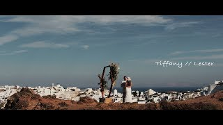 A TRULY MAGICAL ELOPEMENT IN SANTORINI, FILLED WITH WARM EMOTIONS
