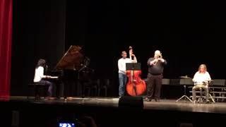 MAYA SINGING AND PLAYING PIANO (COMES LOVE - ELLA FITZGERALD)