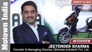 Interview with Jeetender Sharma | Okinawa | Motown India