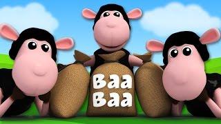 Baa Baa Black sheep | 3D Nursery Rhymes | Kids Songs | Videos For Children