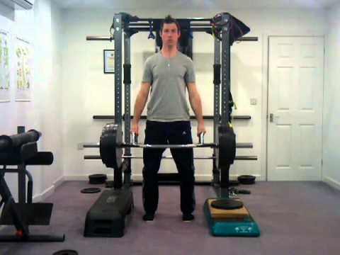 Trap Bar Rack Pulls | 212kg