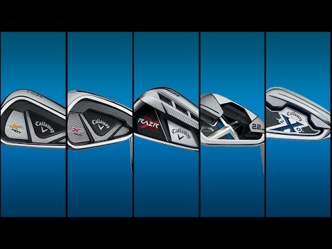 Callaway X2 Hot Irons Compared Against X Hot, RAZR X, X-22 and X-20