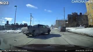 Подборка аварий и дтп с видеорегистраторов  октябрь 2018