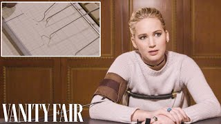 Jennifer Lawrence Takes a Lie Detector Test | Vanity Fair - dooclip.me