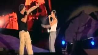 Eros Ramazzotti   Pi che puoi  Amarti e' l'immenso per me live @ Roma 2004