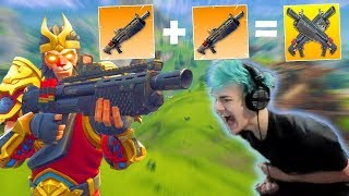 DOUBLE HEAVY SHOTGUN NEW META!! NINJA TROLLING A NOOB! | Fortnite Highlights & Funny Moments #15
